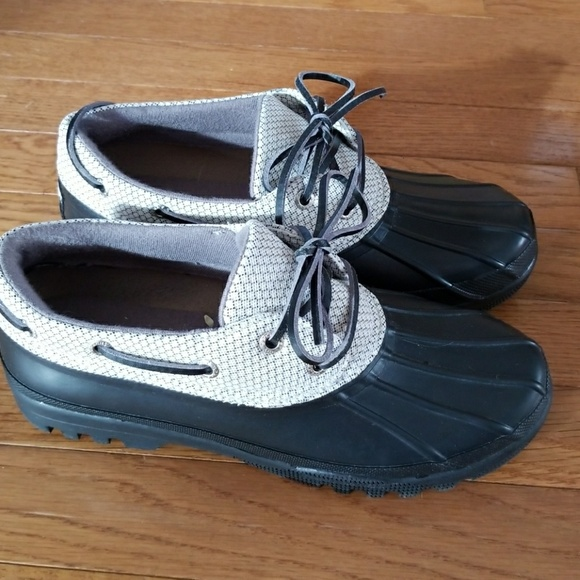 Sperry Low Cut Duck Boots